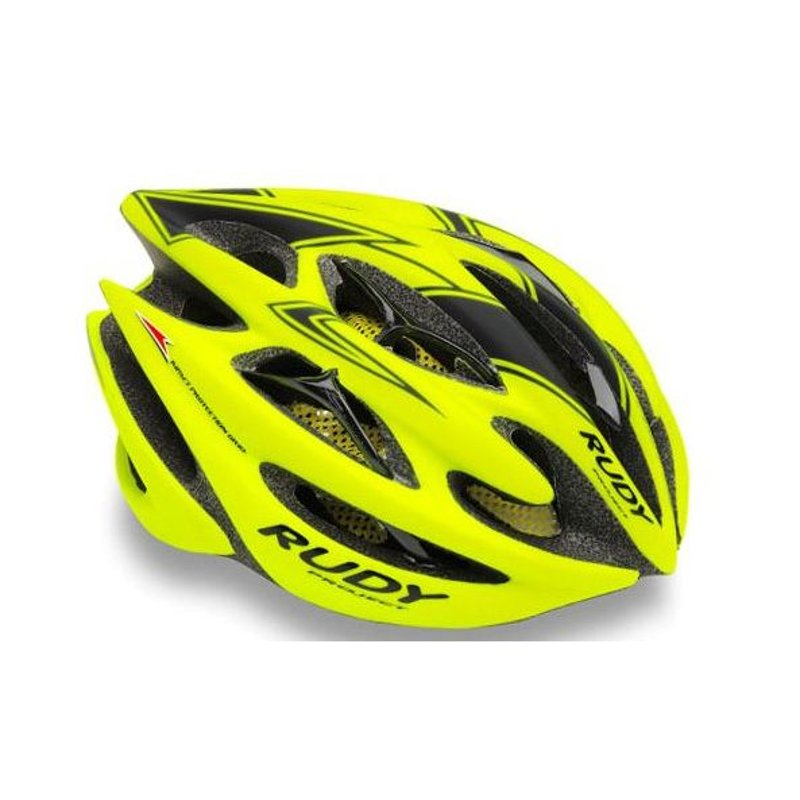 CASCO RUDY PROJECT STERLING YELLOW FLUO-BLACK MATT