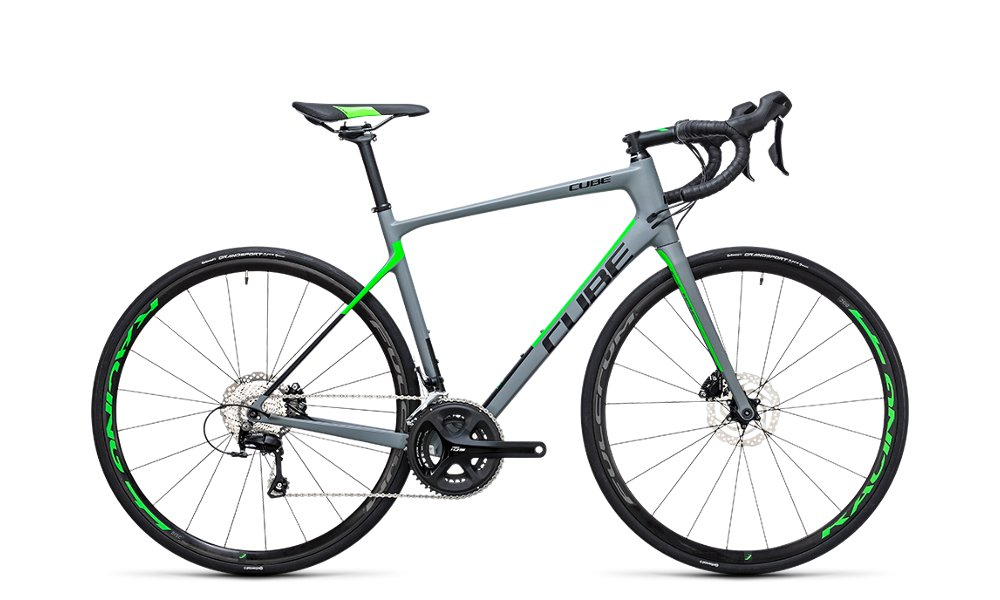 BICI CORSA CUBE Attain GTC Pro DISC 2017