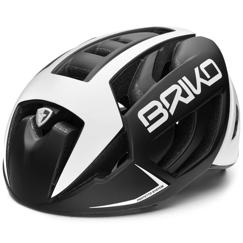 CASCO BRIKO VENTUS BLACK WHITE