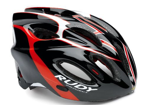 CASCO RUDY PROJECT SNUGGY BLACK-RED