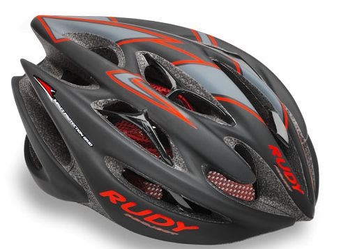 CASCO RUDY PROJECT STERLING BLACK-REDFLUO MATT