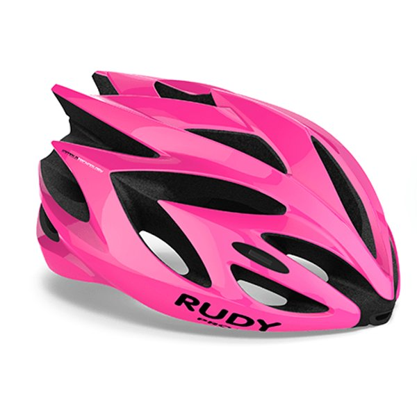 CASCO RUDY PROJECT RUSH PINK FLUO SHINY