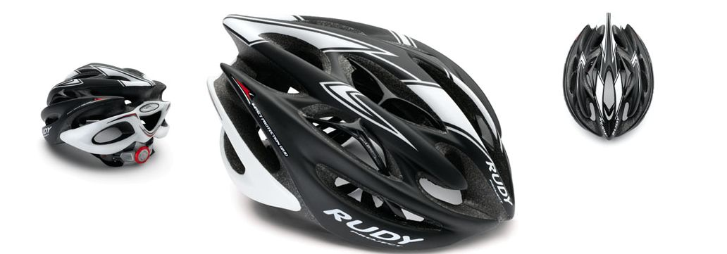CASCO RUDY PROJECT STERLING WHITE-BLACK MATT
