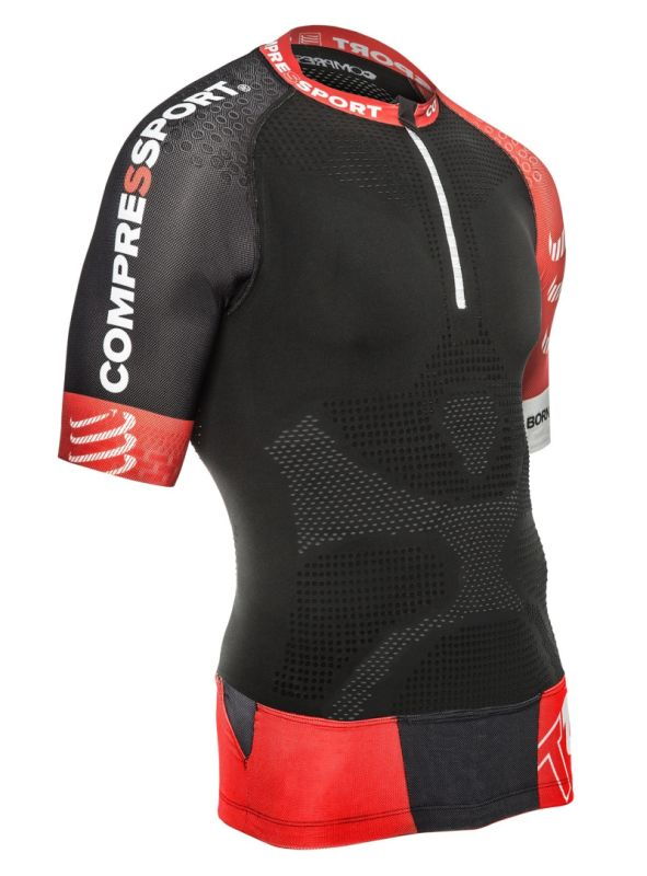 MAGLIA COMPRESSPORT TRAIL RUNNING MAN M.C. V2