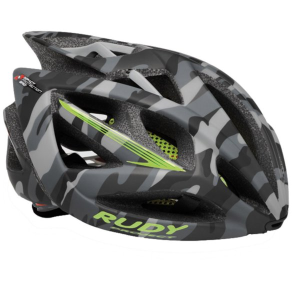 CASCO RUDY PROJECT AIRSTORM GREY CAMO LIME