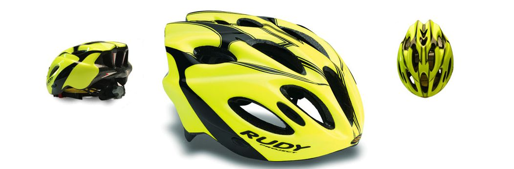 CASCO RUDY PROJECT SNUGGY YELLOW FLUO-BLACK