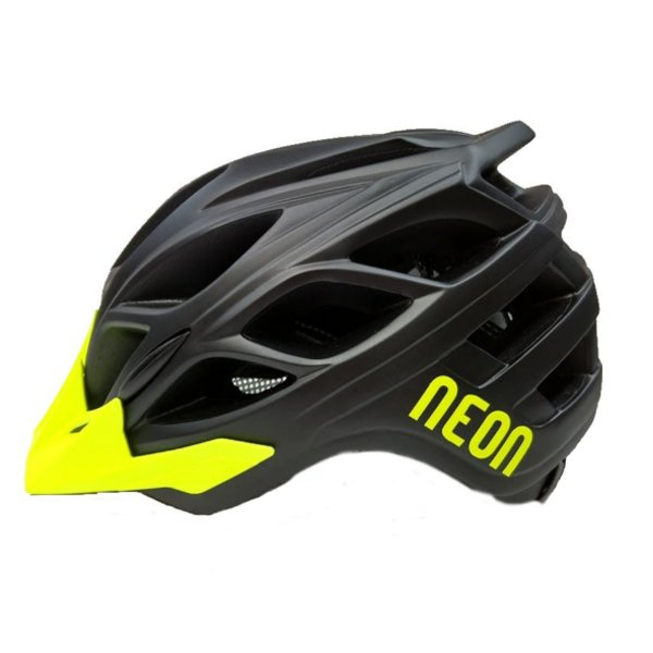 CASCO NEON HIDE BLACK/YELLOW
