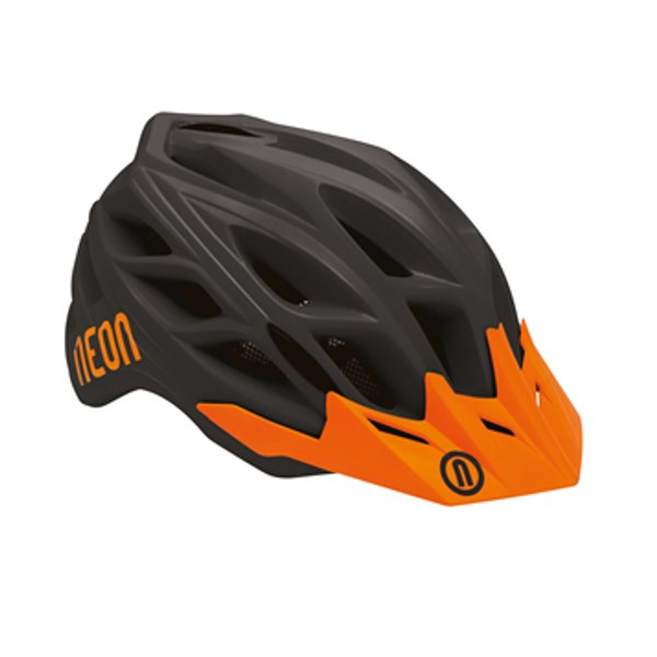 CASCO NEON HIDE BLACK/ORANGE