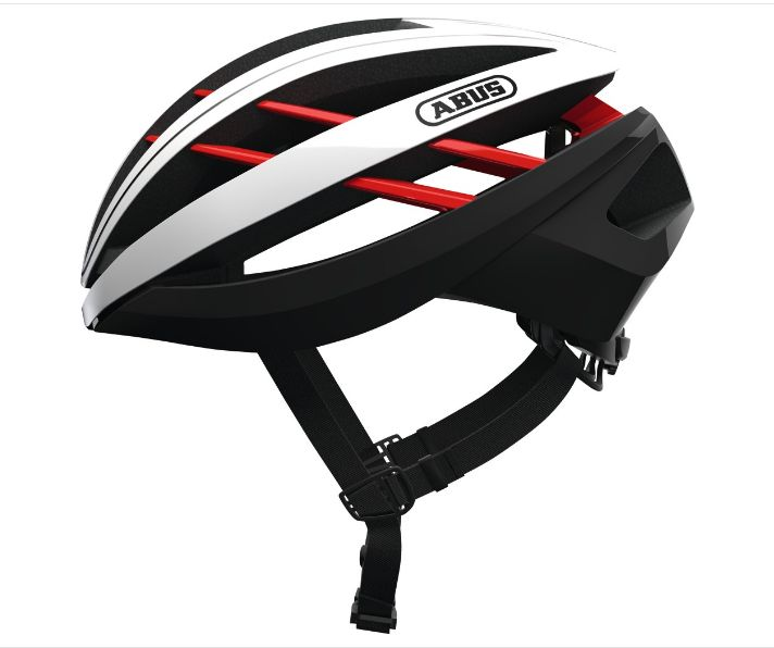 CASCO ABUS AVENTOUR BLAZE RED